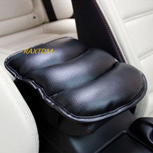 Car Armrest Console Pad Cover Cushion Support Box Armrest Top Mat Liner For VW Benz Audi BMW Mazda Hyundai Nissan Chevrolet(China)