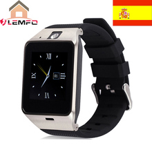 [ Spain Mall ] Popular Smartwatch GV18 Bluetooth Pedometer Wearable Device With SIM Card Mobile GSM Android Smart Watch Phone