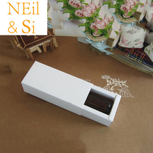 White Paper Drawer Box Cosmetic Perfume Bottle Wedding Gift Macarons Packaging Boxes Free Shipping