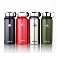 Stainless Steel Insulated Thermos Bottle Thermo Vacuum Flask Large capacity Thermose Thermal Coffee Garrafa Termica Sport Termos(China)