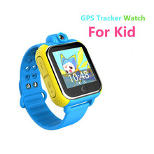 "1.54"" HD Touch Screen Kids SmartWatch With 90 Degree Rotate camera 3G WIFI GPS Multifunction Kids' Tracker Watch For Android&IOS"