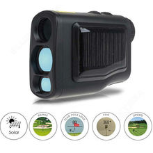 Buy 600M Handheld Waterproof Solar Golf Laser Rangefinder Monoculars Distance Meter Speed Range Finders Flagpole Lock Function for $186.63 in AliExpress store