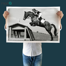HD Print Horse Racing Exciting Sports Poster Canvas Art Print Wall art Canvas Painting Living Room No Frame Home Decor