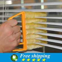 Hot sale New home decor Dirt Cleaner Venetian Blind Brush Window Air Conditioner Duster clean tools,Free shipping.