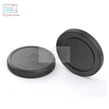 Micro 4/3 Camera Rear Lens Cap + Body Front Cap For Olympus E-PL7 EPL6 E-PL5 E-PL3 OM-D E-M5 OMD EM5 E-M10 Mark ii As BC-2 LR-2