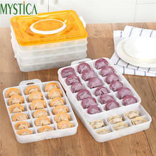 2Layer/Set Hot Food Container Storage box plastic Convenient Durable Bilayer Basket home kitchen Organizer Gadgets Accessories(China)