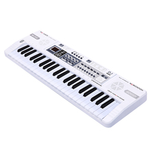 Kids Piano Musical Toys 44 Keys White Instrument Keyboard Educational For Children Electronic Multifunctional Music Toy With LED