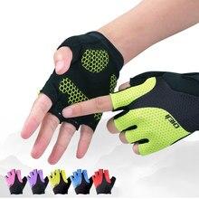 Men's / Women's Cycling Gloves Summer Cheji Team Sport Gloves Mtb Half Finger Bike Gloves Gel Shockproof Racing Bicycle Gloves
