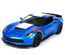 Maisto 1:24 Chevy Chevrolet 2017 Corvette GT Grand Sport Diecast Model Car Toy New In Box Free Shipping