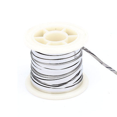 7.5M 24.6Ft 0.2x3mm Nichrome Flat Heater Wire for Heating Elements<br><br>Aliexpress