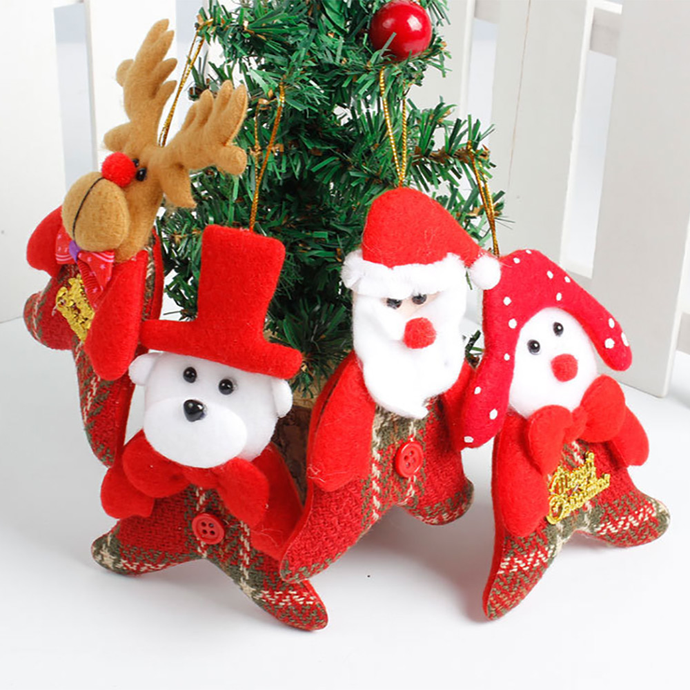 Christmas Decoration Pendant Xmas Party Gifts Home Decor Ornament Wall Sticker Decor Christmas Decorations For Home C20111