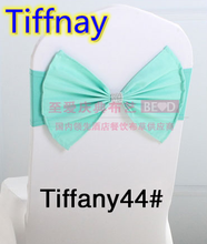 Tiffany colour wedding belt sash Butterfly sash with shiny buckle in the middle lycra sash spandex band bow tie ribbon wholesale