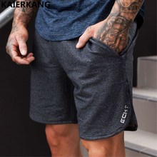 Buy Mens summer new fitness shorts Sweatpants Fashion leisure Crossfit Bodybuilding Workout Joggers male short pants Brand clothing for $7.99 in AliExpress store