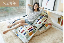 Factory Direct Custom Lazy Chair Creative Leisure Bean Bag (filler included)Young Artists Swim Spa Sofa Lazy Bones