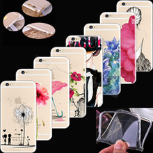 Cover For Apple iPhone 4 iPhone 4S iPhone4 iPhone4S Case Cases Phone Shell Soft TPU Silicon Painted Popular Elegant Figure(China)