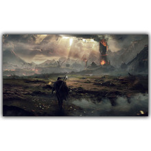 Middle Earth: Shadow of Mordor Silk Canvas Fabric Posters, Video Games, Home Decoration Pictures YX1159