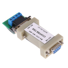 1pc Serial RS232 to RS485 Passive Port Data Interface Communication Converter Adapter New Arrival