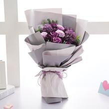 Popular  & Elegant  Soap Rose Flowers Bouquet For Mother's Day / Valentine's Day / Birthday Gift  For Girls WTB-2047