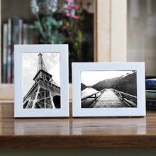 Simple Picture Frame Plastic Photo Frame Desktop Decor Item Advertising Gifts