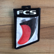 2017 luxury fiberglass surfboard FCS G5 fin with carbon fiber stealth and bag