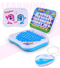 2017 New Arrival Multifunction Educational Learning Machine English Early Tablet Computer Toy Kid + Mouse Brinquedos Educativos(China)