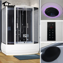 1700mm shower cabin  Steam Shower Enclosure Cabin Cubicle  Shower Bath No Whirlpool Corner Cabin Cubicle Enclosure Room 1c02