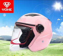 2017 Summer New YOHE Half Face motorcycle half cover YH-882A motorbike helmets made of ABS have 7 kinds color size M L XL XXL