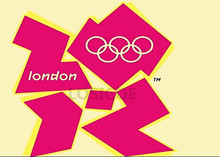 """2012 London,United Kingdom, the thirtieth session Olympic Games emblem"" Retro Matte Kraft Paper Poster Wall Decor Painting(China)"
