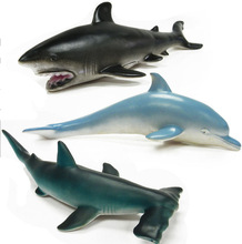 BOHS Shark Marine Animals Simulation Soft Model Toy Gift