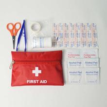 8pcs First Aid Kit Bag Outdoor Camping Sport Emergency Medical Bag Health care Survival Kit(China)