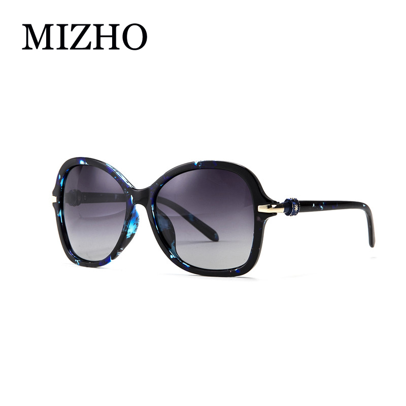 Fashion BLUE Pattern Gradient Polarized Sunglasses Women Brand Designer With BOX High Quality Anti Glare Polaroid Ladies Luxury<br><br>Aliexpress