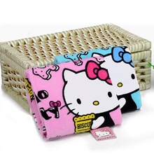 Home Textile Hand Towel HELLO KITTY Soft Face Towel Cleaning Towel Dry Hair Towel for Kitchen Bathroom Products D(China)