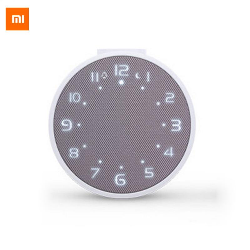 Original Xiaomi Mi Music Alarm Clock Portable Speaker Clock Bluetooth 4.1 10M 2600mah Standby 360 Hours Wake Up By Music<br><br>Aliexpress