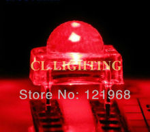 Free shipping Super flux LED 5MM RED 4-legs piranha led diode 1.8-2.1V 620-625nm(CE&Rosh)