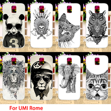 Soft TPU Phone Cases UMI Rome X 5.5 inch Case Black Animals Smartphone Covers Housings Sheaths Skins Shields Hoods - TAOYUNXI Official Store store