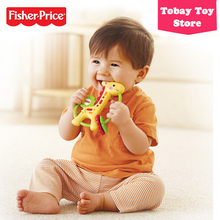 Fisher Price Baby Bedding Set Teether Toy Giraffe Rattle Toy Mordedor Para Bebe Girafinha Y6582 For Baby Sleeping Toys(China)