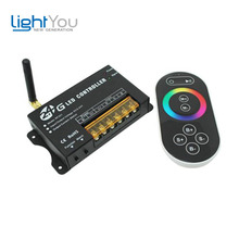 2.4G Full-color high Power output RGB controller 24A 576W DC5-24V for flexible led module light strip