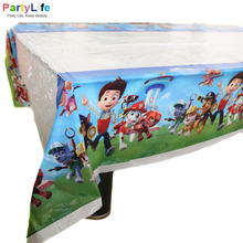 New Arrival Table Cover Party Favors 108*180cm Home Decorations Child Birthday Paw Patrolling Theme Party Table Cloth Supplies(China)