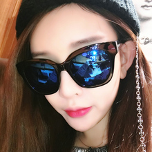 IVE new arrival suqare frame Sun glasses for women men oculos vintage ray brand designer blue black sliver colors UV400 9739