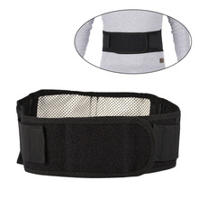 Tourmaline Self-Heating Waist Support Belt Magnetic Therapy Waist Belt Lumbar Double Banded Braces Support Back Waist Belts