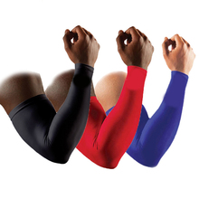 Basketball Barcer Bar Lengthen Armguards Sunscreen Sports Protective Forearm Elbow Pad Sleeve Arm Warmers Safety Protection(China)