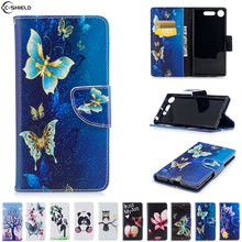 Buy Flip Case Sony Xperia XZ1 XZ 1 Case Mobile Phone Leather Cover SonyXZ1 PF31 G8341 G8342 F8342 soft silicon bag wallet for $4.69 in AliExpress store