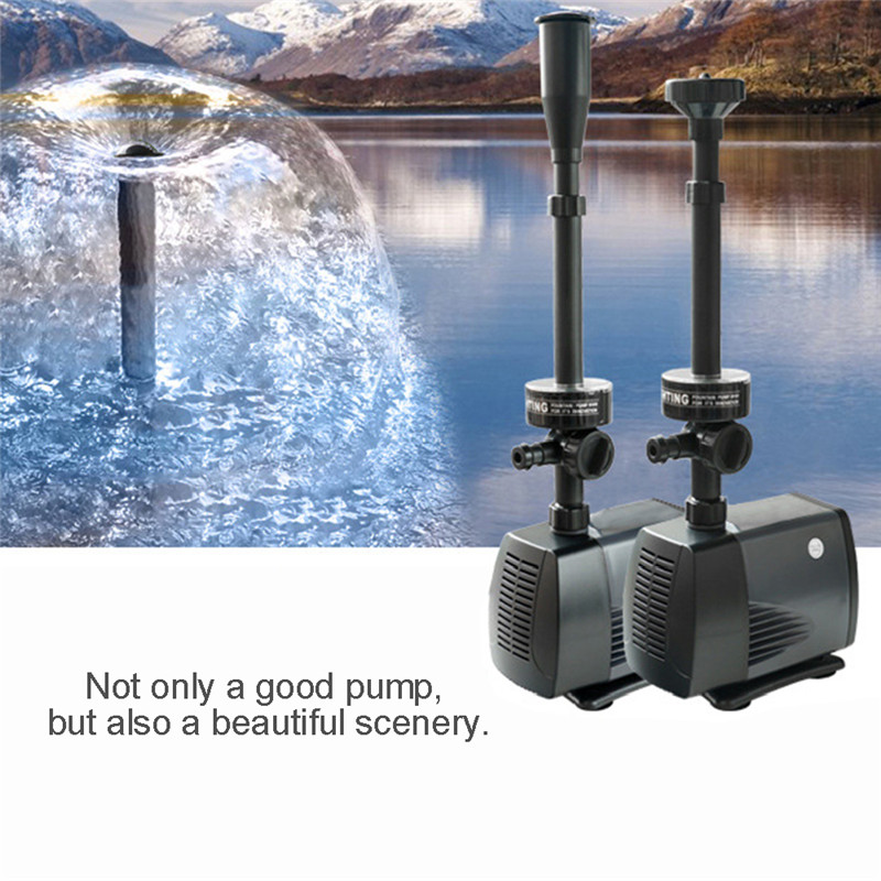 40w 2000l Fish Pond Aquarium Water Pump Led Submersible Fountain Pump for 01