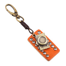 2016 New Fashion Jewelry Male Decorations Handmade Trendy Creative Key Chain  Camera Rivet KeyChain For Men