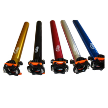 Mountain bike aluminum alloy seatpost 350*31.6/27.2/30.9mm bicycle plum tube 5 colors optional Bicycle accessories