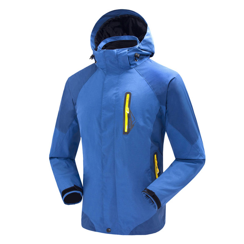 Men Outdoor New Windproof Waterproof Hiking Jackets Factory Direct Removable Fleece Liner Comfortable Keep Warmer Skiing Clothes<br><br>Aliexpress