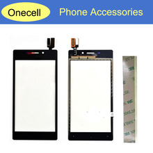 Black White Touch Panel For Sony Xperia M2 Aqua D2403 /M2 S50h D2303 Touch Screen Digitizer Front Glass Replacement