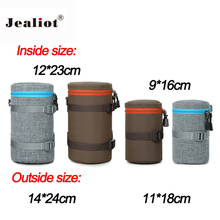 Jealiot Universal Waterproof Protective bag for the Camera Lens Bag digital DSLR camera Case Cover Pouch For Canon Nikon sony(China)