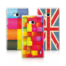 Newest Floral Hard Plastic Case For Nokia Lumia 930 Colorful Flower Painted Cover For Nokia Lumia 930 Back Cover