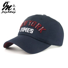 2016 New arrival high quality snapback cap cotton baseball cap New York Times embroidery hat for men women boy girl cap B349